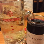 ハイボール&赤ワイン