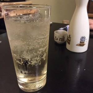 日本酒とハイボール