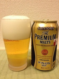 プレミアムモルツ350缶