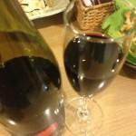 ワイン斜め上