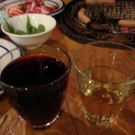 ワイン飲む