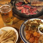 料理とビールとBBQ