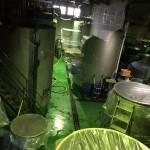 発酵タンクと熟成タンク