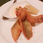 松茸と魚のフライ
