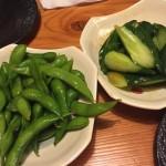 枝豆&きゅうり